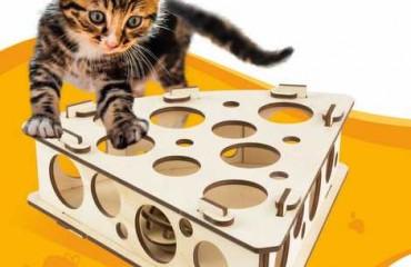 """Игрушка для кошки """"Сыр"""""""