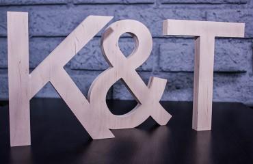 Утолщенные буквы из фанеры (20 мм)