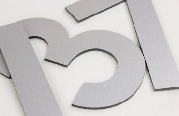 Буквы из композита