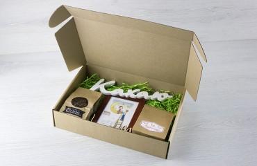 Крафтовая коробка, тип 3