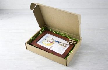 Крафтовая коробка, тип 1