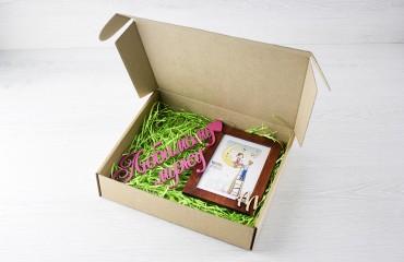 Крафтовая коробка, тип 2