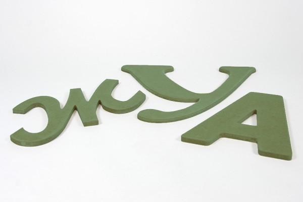 Буквы без покрытия