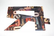 Буквы из ПВХ с принтом
